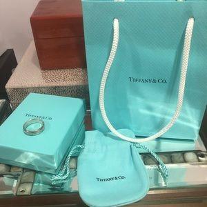 Tiffany & Co logo ring